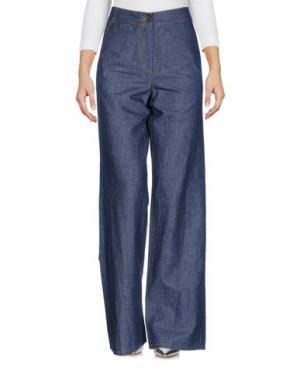 Джинсовые брюки I'M ISOLA MARRAS. Цвет: синий