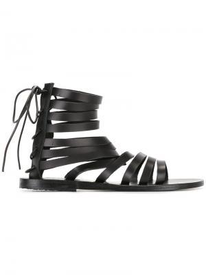 Сандалии Galatia Ancient Greek Sandals. Цвет: чёрный