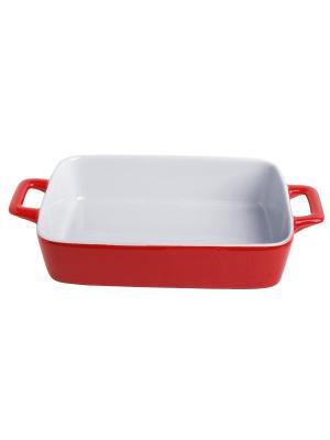Форма для запекания керамика (духовка/гриль/микроволновка), 30*17,5*5,5 см FRANK MOLLER. Цвет: красный