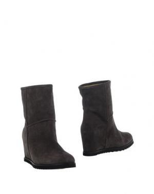 Полусапоги и высокие ботинки FABIO RUSCONI. Цвет: стальной серый