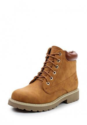 Ботинки Enjoin Enjoin'. Цвет: коричневый