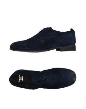 Обувь на шнурках SARTORI GOLD. Цвет: темно-синий