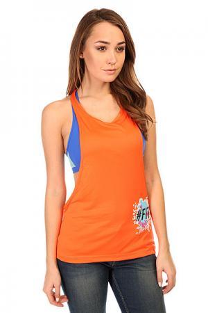 Майка женская  Dry Sport T-Shirt Orange CajuBrasil. Цвет: оранжевый