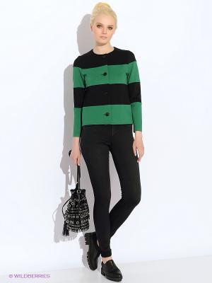 Жакет Colambetta. Цвет: черный, зеленый