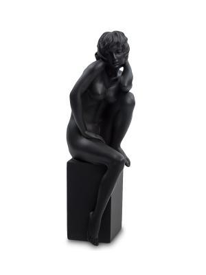Статуэтка Девушка Veronese. Цвет: серебристый