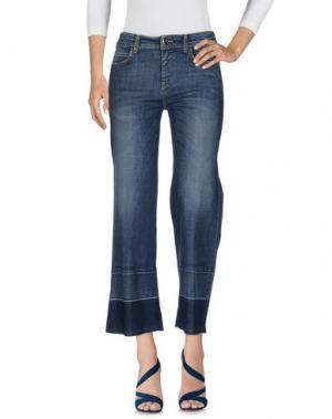 Джинсовые брюки SHIRTAPORTER. Цвет: синий
