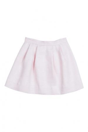Жаккардовая розовая юбка AGATHA Bonpoint. Цвет: розовый