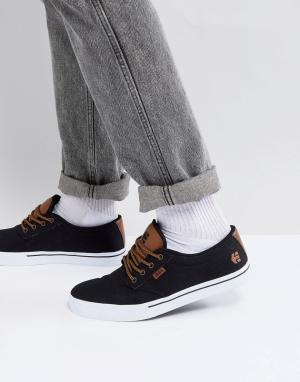 Etnies Черные кроссовки Jameson 2 Eco. Цвет: черный