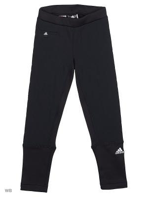 Трикотажные брюки дет. спорт. G LIBRIA LEGG Adidas. Цвет: черный