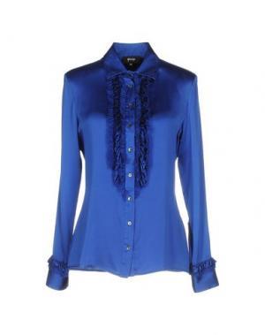 Pубашка GOSSIP. Цвет: синий
