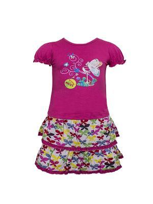 Комплект одежды WWW. Цвет: фиолетовый