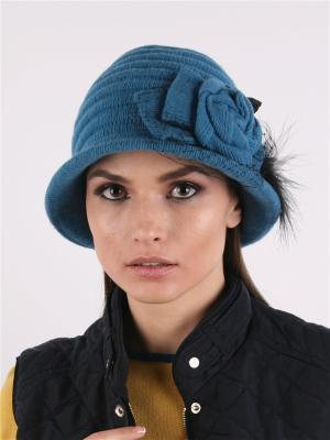 Шляпа SHERONA. Цвет: бирюзовый