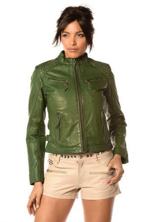 Куртка Pellessimo. Цвет: зеленый