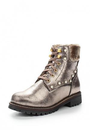 Ботинки s.Oliver. Цвет: золотой