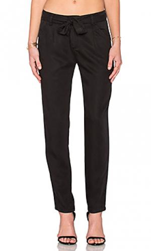Прямые брюки Michael Stars. Цвет: черный