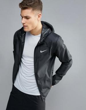 Nike Running Черная спортивная куртка 800492-010. Цвет: черный