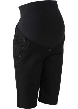 Мода для беременных: шорты (черный) bonprix. Цвет: черный