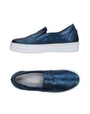 Низкие кеды и кроссовки GIANCARLO PAOLI. Цвет: синий