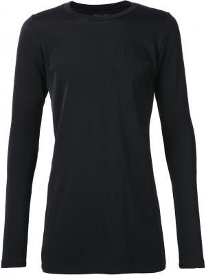 Эластичная футболка с длинными рукавами Judson Harmon. Цвет: чёрный