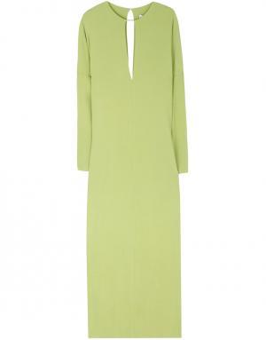 Платье из вискозы Kaufmanfranco. Цвет: зеленый