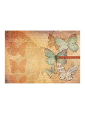 Обложка для паспорта Осень Magic Home. Цвет: оранжевый