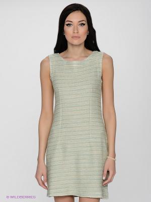 Платье LUIGI FERRO. Цвет: светло-зеленый