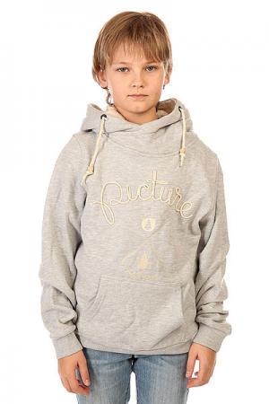 Толстовка кенгуру детская  Cornely Grey Picture Organic. Цвет: серый