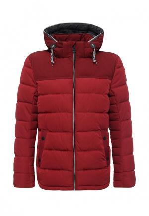 Куртка утепленная Tom Tailor. Цвет: красный