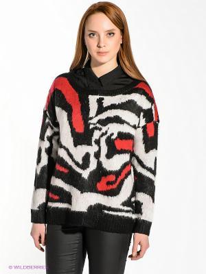 Джемпер Vero moda. Цвет: черный, красный, белый