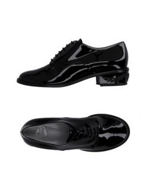 Обувь на шнурках RAYNE. Цвет: черный