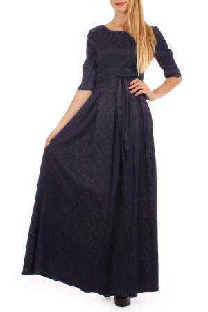 Платье Lamiavita. Цвет: темно-синий