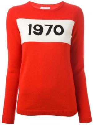 Джемпер 1970 Bella Freud. Цвет: красный