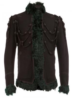 Куртка из овчины The Soloist. Цвет: чёрный
