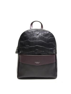Рюкзак Fiorelli.. Цвет: черный, сливовый