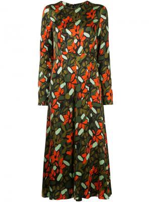 Платье с цветочным рисунком Goen.J. Цвет: многоцветный