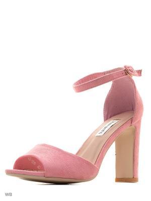 Босоножки KaranFil. Цвет: розовый
