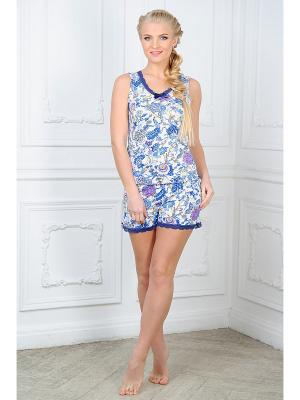 Пижама Mia Cara. Цвет: синий