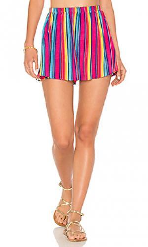 Пляжные шорты Show Me Your Mumu. Цвет: фуксия