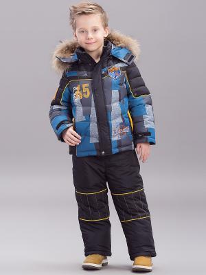Комплект одежды (куртка+брюки) Steen Age. Цвет: черный, зеленый, серый
