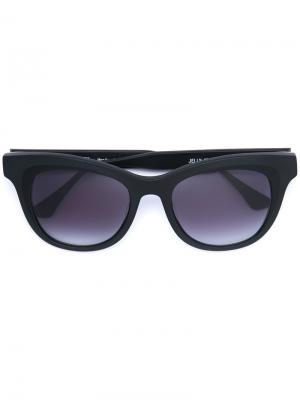 Солнцезащитные очки в квадратной оправе Thierry Lasry. Цвет: коричневый
