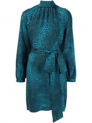 Платье с поясом Vanessa Seward. Цвет: чёрный