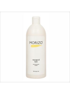 Morizo масло массажное для тела базовое. Цвет: прозрачный