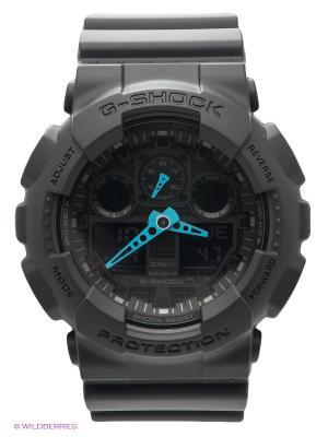 Часы G-SHOCK GA-100C-8A CASIO. Цвет: черный