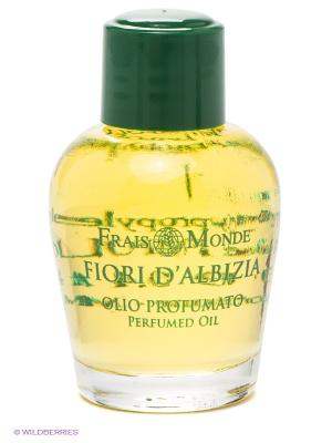 Парфюмированное масло Цветы альбиции Frais Monde. Цвет: желтый, зеленый, розовый