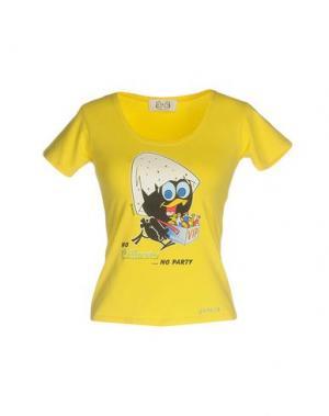 Футболка EAN 13. Цвет: желтый