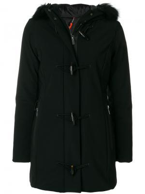 Пальто-пуховик с капюшоном Rrd. Цвет: чёрный