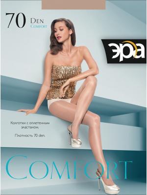 Колготки Comfort 70 ЭРА.. Цвет: коричневый