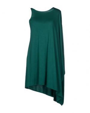 Короткое платье AMAYA ARZUAGA MAILLE. Цвет: темно-зеленый