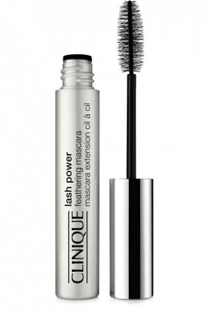 Тушь Lash Power Feathering Mascara Black Onyx Clinique. Цвет: черный