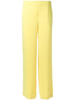 Прямые брюки P.A.R.O.S.H.. Цвет: жёлтый и оранжевый